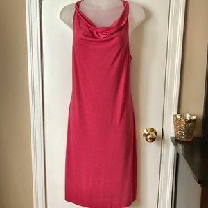Lole Cowl-Neck Pink Dress